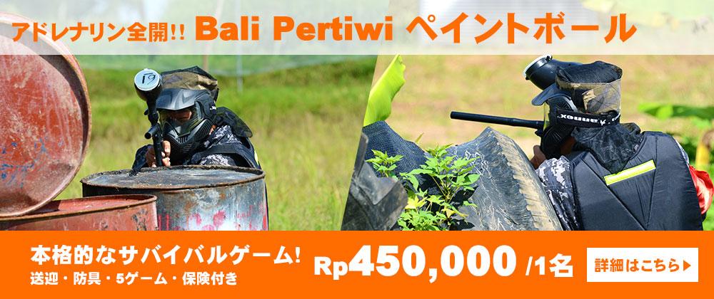 Bali Pertiwi ペイントボール