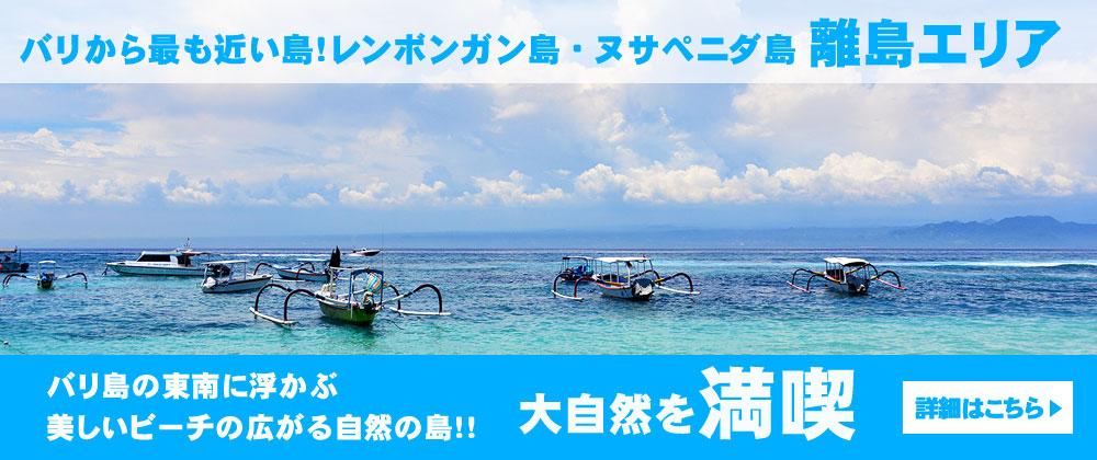 地図 レンボガン島・ヌサペニダ島/離島エリア(C-3エリア)