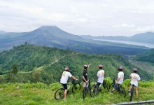cycling in Bali