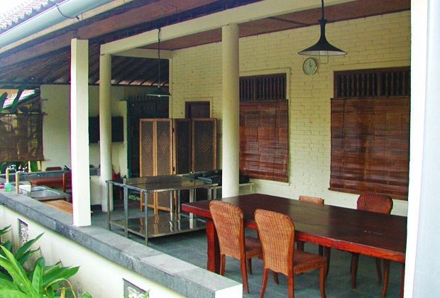 ダプール・バリ 料理教室