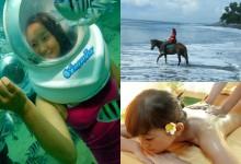 Horse Ride + Sea Walker + Spa Tour
