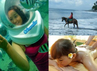 Horse Ride + Sea Walker + Spa Tour