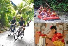 super reasonable cycling + rafting + dance