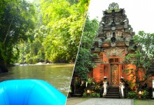 super reasonable rafting + ubud sightseeing