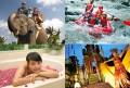 elepant safari + rafting + spa + dance A
