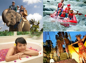 elepant safari + rafting + spa + dance A