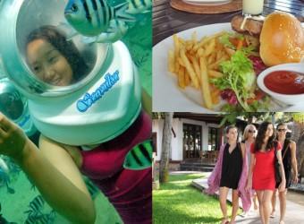 sea walker + lunch + spa