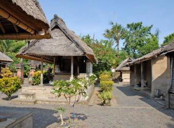 バトゥアン村民家